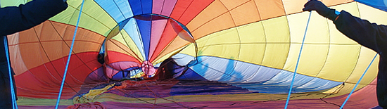 Hot Air Balloon Flights over the UK - Book a Hot Air Balloon Ride over Nottinghamshire (Notts.)