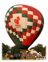 Book a Hot Air Balloon Flight. Balloon Rides over Berkshire or elsewhere in the UK.