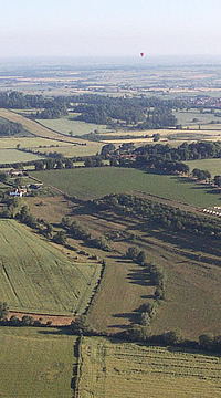 Book a Hot Air Balloon Flight over Kent, or elsewhere in the UK.